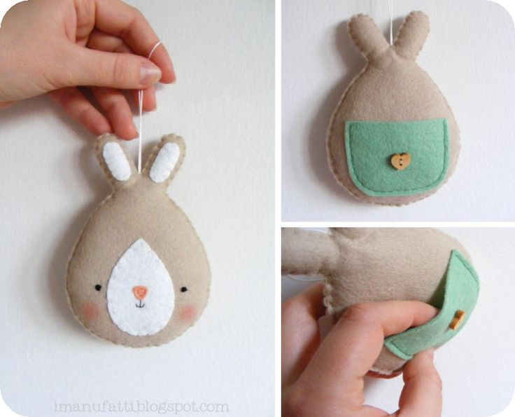 Tutoriais em feltro, tute for bunny that is the sweetest thing! lovely share xox