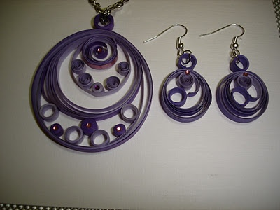 quilling jewelery