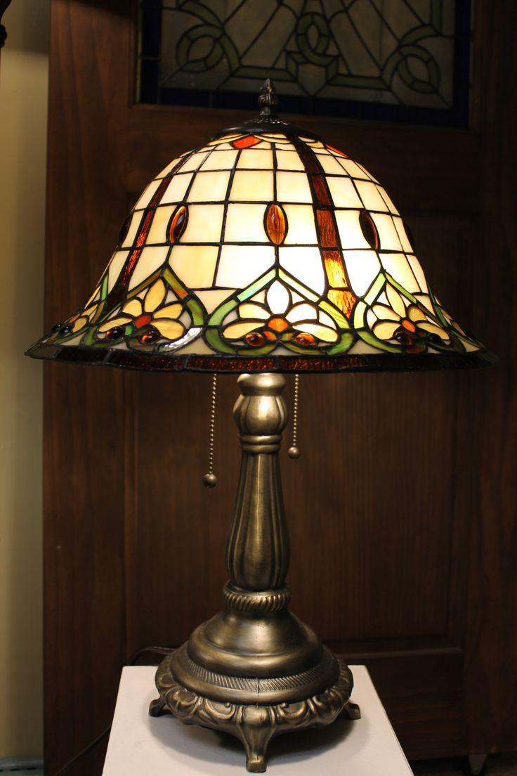 Lampe sur table style Tiffany de la boutique Tiffanyvitrail sur Etsy