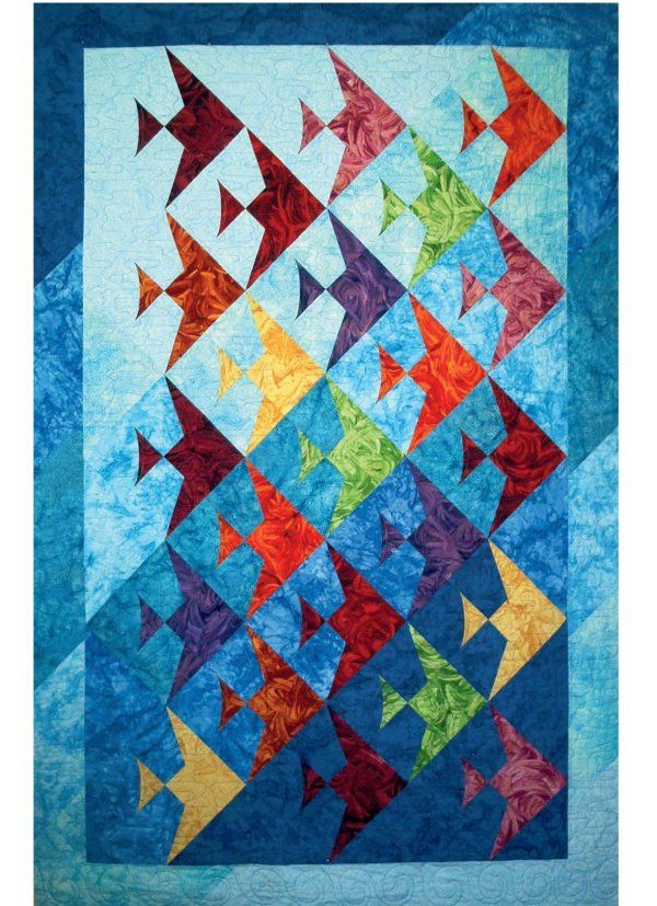 kids fish quilt patterns | Busy Crafting...: Fish Quilt Pattern - How to Choose the Right Pattern