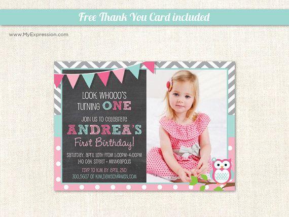 The 25 best Owl invitations ideas on Pinterest Owl birthday