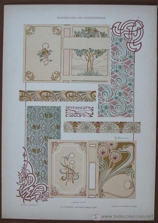 1000 images about ellen art nouveau graphic design on for Decoracion art nouveau