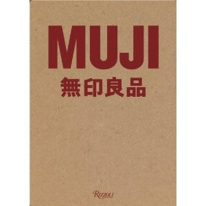 """MUJI - the book! From the review: """"Muji, the Japanese manufacturer, is known for the artful modesty of its products. In fact, the company has earned a cultish following for housewares so spare and generic they turn anonymity into a high aesthetic. Jasper Morrison, Naoto Fukasawa and other prominent designers created many of its roughly 7,000 products, but their names are obscured in keeping with an anti-brand credo"""" $40"""