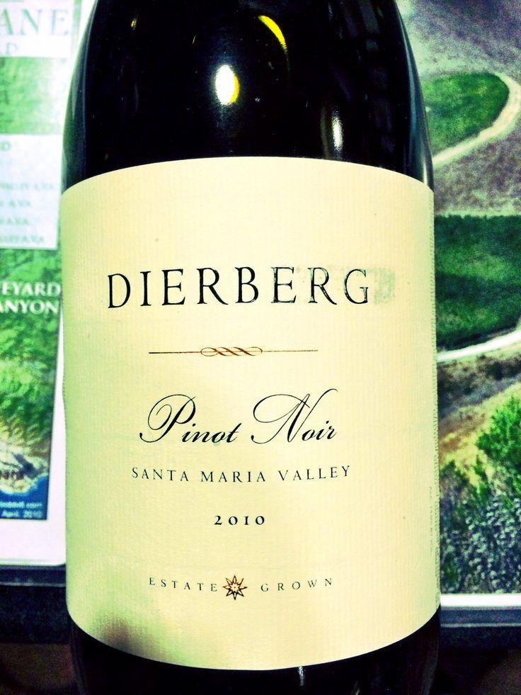 2010 Dierberg Pinot Noir, best Pinot if the dozen I tasted. Great fruit, long finish.
