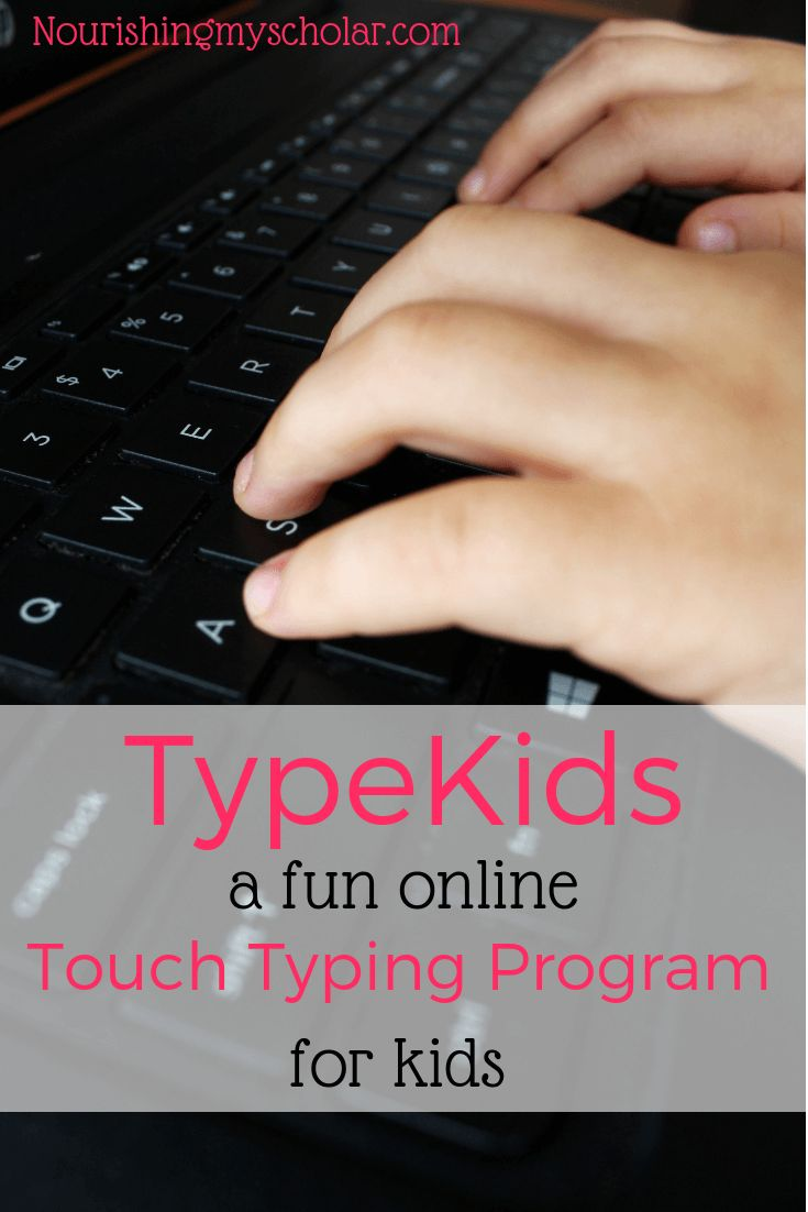 TypeKids : A Enjoyable On-line Contact Typing Program for Children