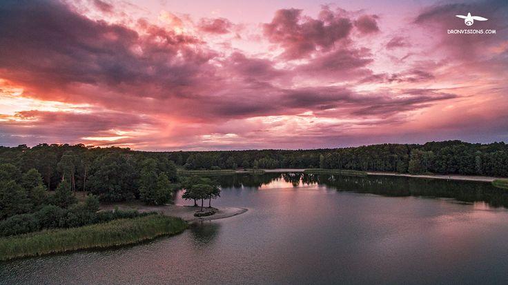 Z lotu ptaka: Jezioro Jezuickie.