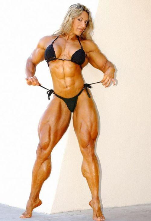female bodybuilding body builders female muscle forward legs