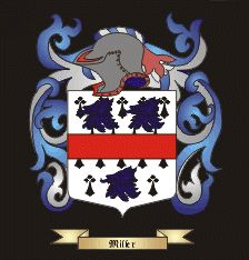 Miller Crest and Family Coat of Arms