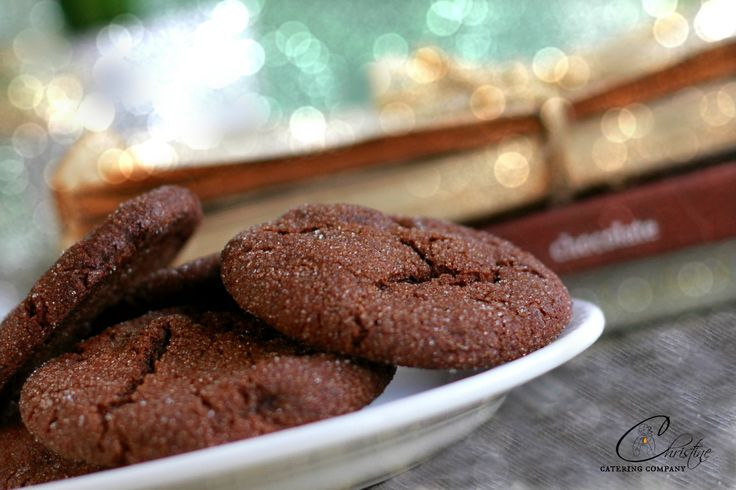 DELICIOUS CHOCOLATE GINGER COOKIES  http://www.christinecatering.com/
