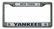 New York Yankees Chrome License Plate FrameYankees Chrome, License Plates Frames, Yankees Pride, Licen Plates Frames, New York Yankes, New York Yankees