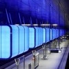 Hamburg's New HafenCity Subway Station is Lit with Shipping Container-Size LED Light Boxes hafencity university subway station – Inhabitat - Sustainable Design Innovation, Eco Architecture, Green Building