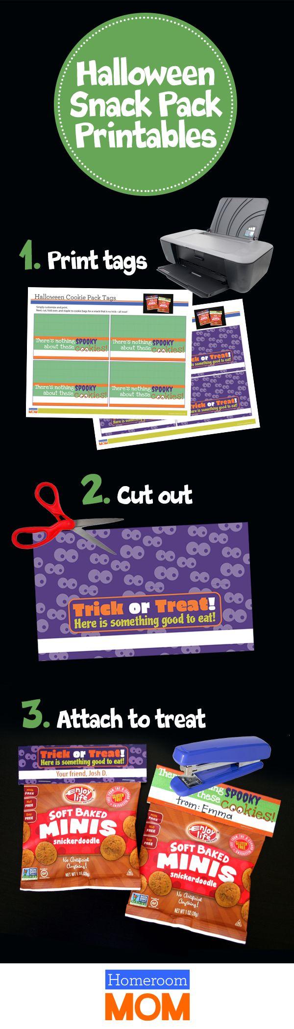 47 best Prepackaged Halloween School Treats images on Pinterest ...