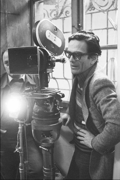 Pasolini directs Salo