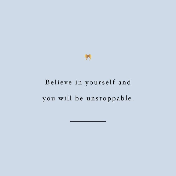 Believe in yourself! Browse our collection of inspirational workout quotes and get instant exercise and fitness motivation. Transform positive thoughts into positive actions and get fit, healthy and happy! http://www.spotebi.com/workout-motivation/fitness-motivation-believe-in-yourself/