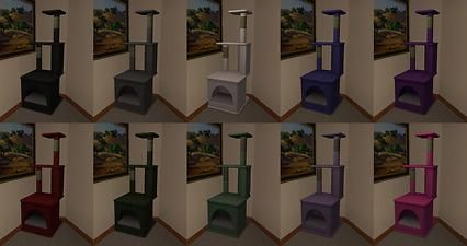 Mod The Sims - Los Gatos Condominiums Basic Recolour Pack