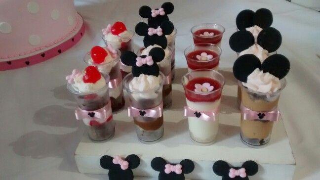 Shots temática Minnie