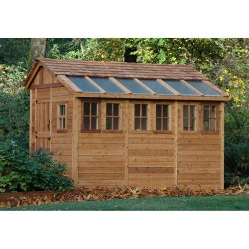 Western Red Cedar Garden Shed