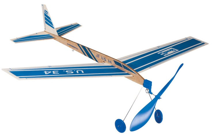 Rubber Band Powered Airplane Toys From My Childhood
