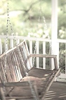 Awesome Porch Swing ~