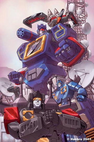 Transformers - Soundwave!