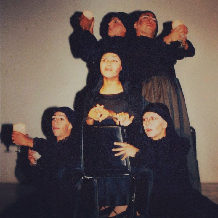 La Casa de Bernarda Alba 1996 Teatro Isabela Corona