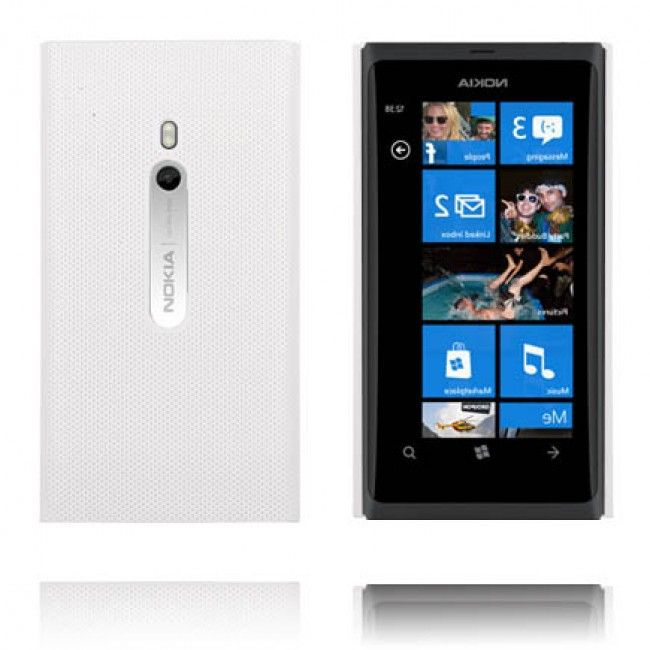Supreme (Valkoinen) Nokia Lumia 800 Suojakuori - http://lux-case.fi/supreme-valkoinen-nokia-lumia-800-suojakuori.html