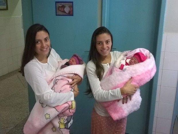 Canadauence TV: Gêmeas dão à luz juntas e de parto normal
