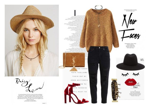 Mrs. Autumn by justy-na on Polyvore featuring moda, Yves Saint Laurent, Hipanema, Miss Selfridge, rag & bone and Topshop