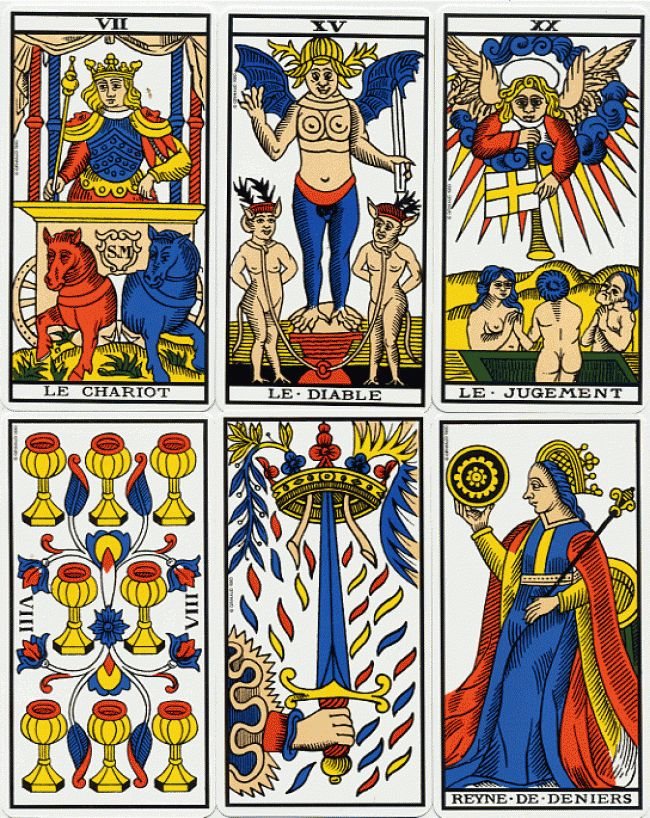 Marseille Tarot Cards 2010: 26 Best Images About Tarot, This Is My Life ! On Pinterest
