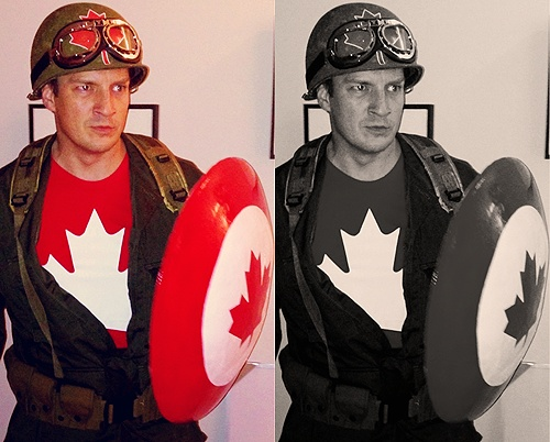 OMG!!!! I love Nathan Fillion so much :) @Kat Figueroa you know you love it!