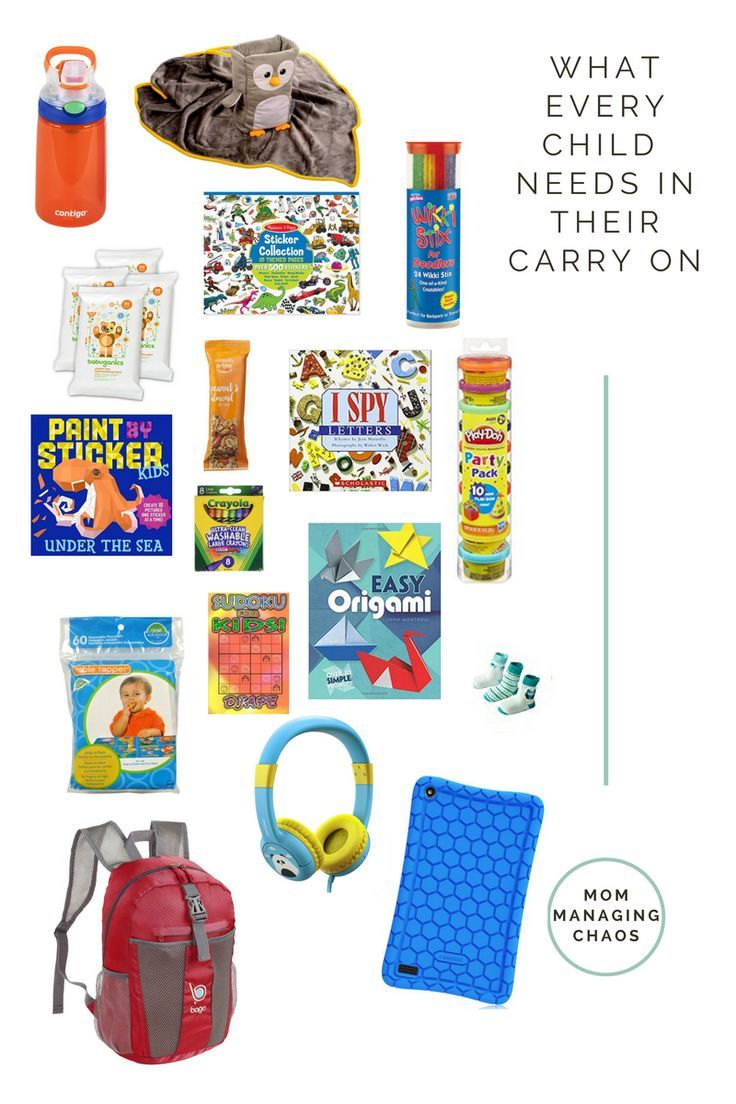 Kids Carry On Must Have Packing List Packing Kids Packing List Kids Traveling By Yourself