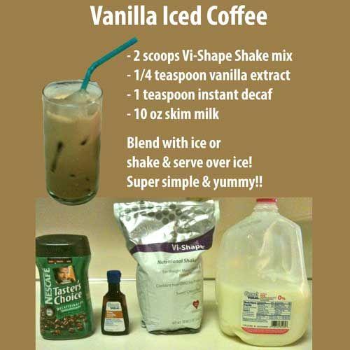 The Body by Vi Challenge: Vanilla Iced Coffee Shake
