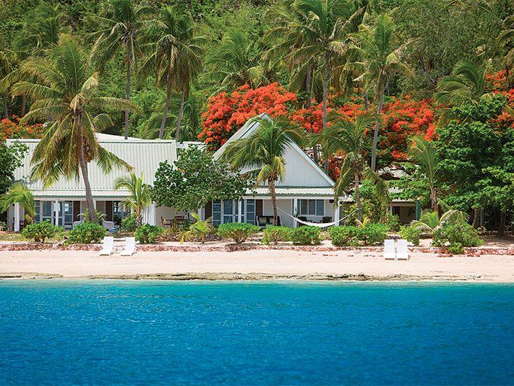 Island escape. Malolo Island Resort, Fiji  www.islandescapes.com.au