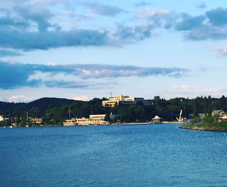 Beautiful view on our Brno dam.