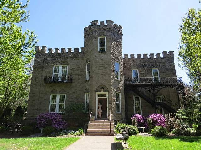 Warner Castle. Highland Park, Rochester, NY.