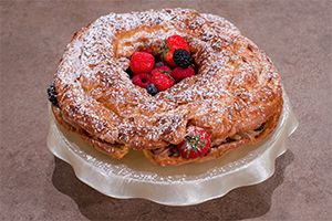 Chef On Air   paris-brest with fantastic pralina cream