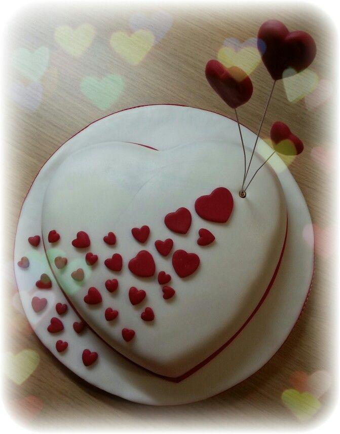 Heart cake!