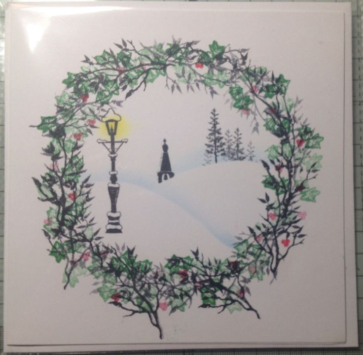 Card-io Christmas stamps