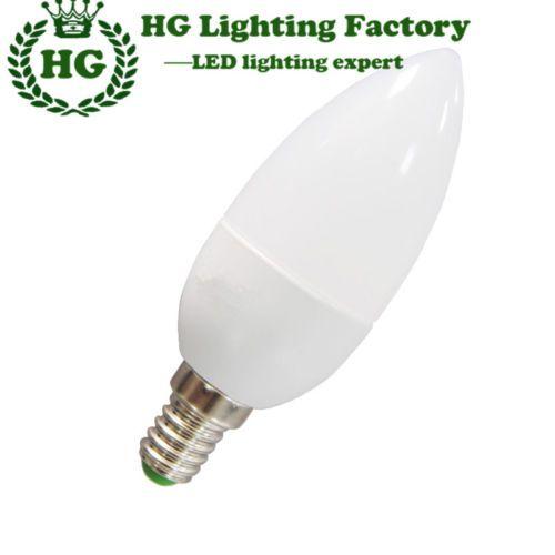 LED-3W-Candle-Bulb-Light-AC110V-220-240V-E14-Warm-Cold-White
