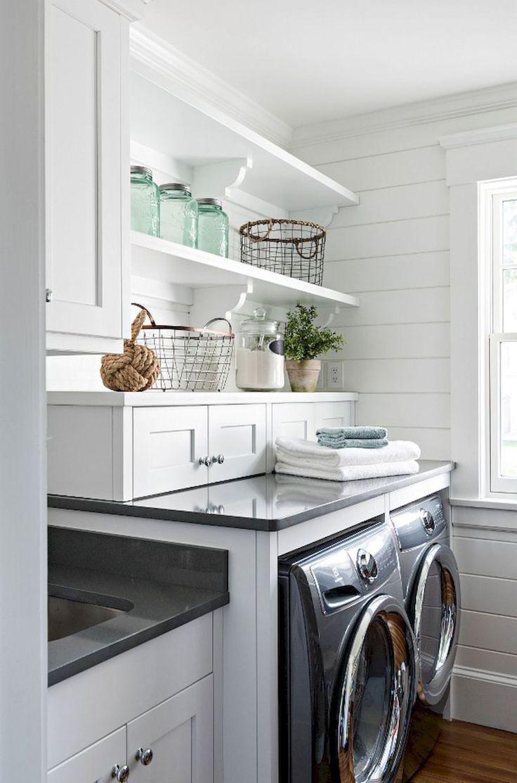 26 Best Modern Farmhouse Laundry Room Decor