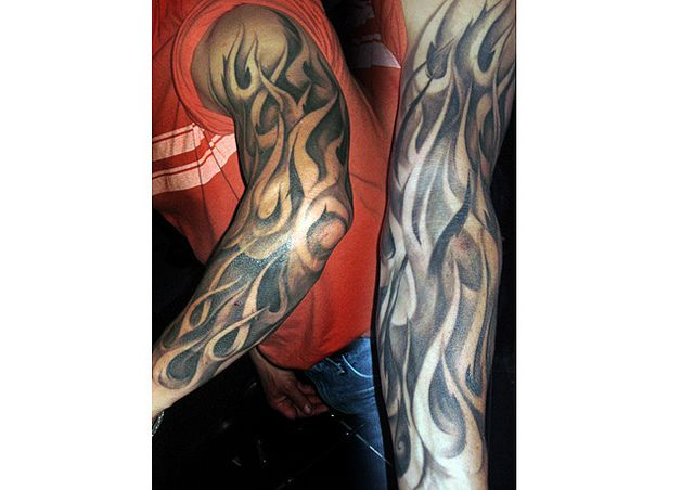 120 best images about tattoos on pinterest back tattoos for Tattoo pictures of flames