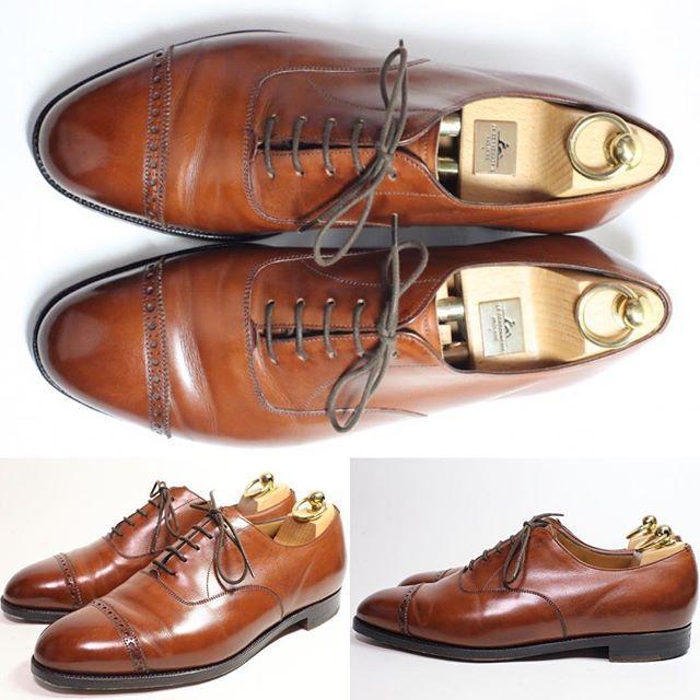 2017/02/14 21:25:00 shoesaholic1 OLD EDWARD GREEN OLD BARKLEY MADE FOR BARNEYS NEW YORK.  旧工場製エドワードグリーンのオールド バークレーです。色味も英国靴っぽくて良い感じです!! ITEM ID : 175  #edwardgreen  #シューホリック#井上精肉店 #shoes #Mensshoes #shoepolish #boots  #Mensfashion #bespoke #tailar #stylish #fashiongram #instastyle #lookbook #luxury #gentleman #playboy#styleforum #ootd #靴 #高級靴 #靴磨き #足元くら部 #足元倶楽部  #高級 #オールデン #パラブーツ #ジョンロブ #エドワードグリーン #クロケットアンドジョーンズ