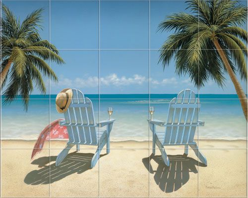 86 best murals images on pinterest murals beach mural for Beach scene mural wallpaper