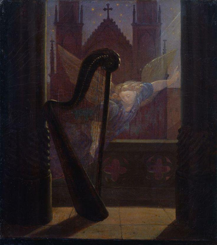 Music, 1826 by Carl Gustav Carus (German, 1789–1869)