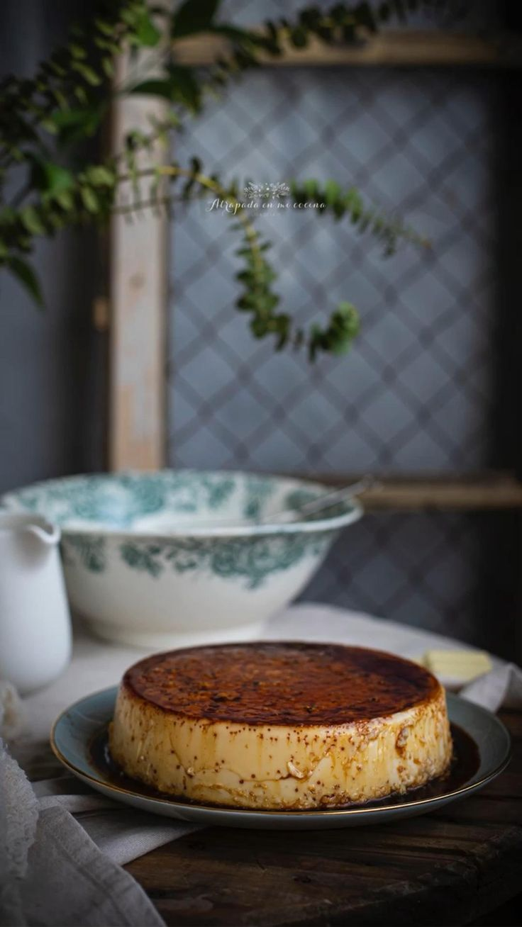 Flan, Sin Gluten, Gluten Free, Sweet Little Things, Camembert Cheese, Delish, Deserts, Food And Drink, Favorite Recipes