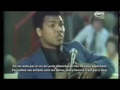 Muhammad Ali - Que feras tu quand tu arrêteras la boxe ? HD Vostfr - YouTube