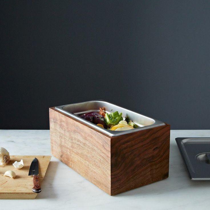 composteur appartement cuisine bois