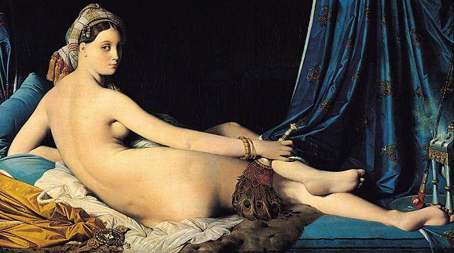 La Grande odalisque, 1814, Ingres, Paris, musée du Louvre.