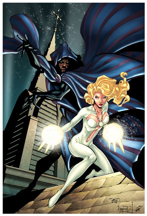 Cloak and Dagger. I like mid-powered heroes. They have cool abilities, but more struggle.