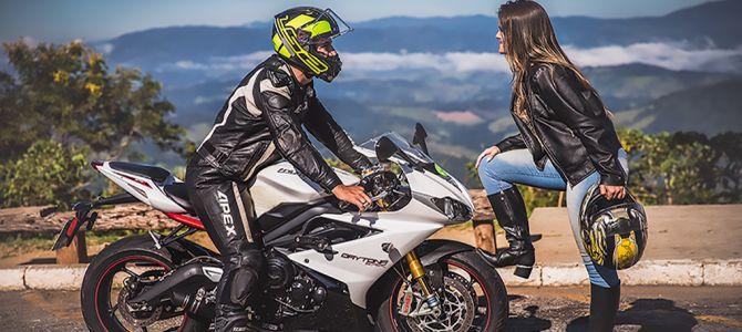 Do Tinder para a moto, da moto para o altar